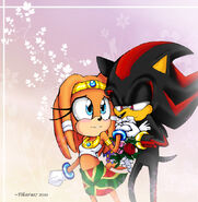 Tikal X Shadow by Tikaru17