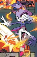 IDW Blaze the Cat profile