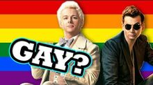 Are They Gay? - Aziraphale and Crowley
