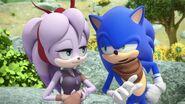 SonicBoom Sonic&Perci chatting