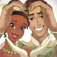 Tiana and Naveen by romancemedia