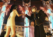 Squall and Rinoa dancing to the Waltz for the Moon
