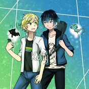 Adrien and luka by kelly12v