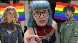 Definitive proof captain marvel is gay (spoilers)
