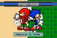SonicAdvance3 Knuckles&Sonic
