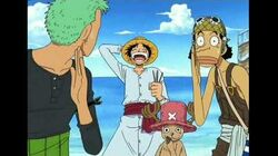One piece luffy and nami