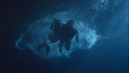 OUAT Snow and Ariel underwater