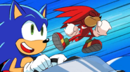 Sonic is saved by Knuckles - Team Sonic Racing Overdrive