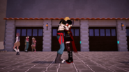 Jaune and Ruby hug after being seprated