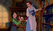 Mulan and Belle by mostlydisneyfemslash 3