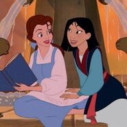 Belle and Mulan sapphicsociety