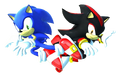Sonic and Shadow (Sonic Generations) by Banjo2015