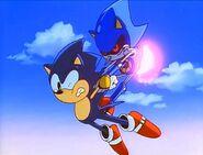SonicOVA Metal pins Sonic