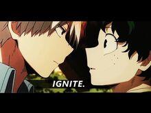 Todoroki & midoriya -- ignite
