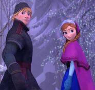 Kristoff and Anna KHIII