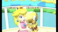 Mario Power Tennis- Peach's Celebration