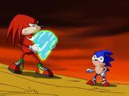 SonicUnderground Sonic returns ChaosEmerald