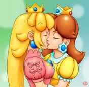 Peach Kisses Daisy