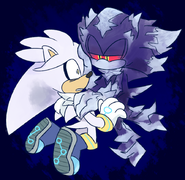 Silver&Mephiles by gaysilver