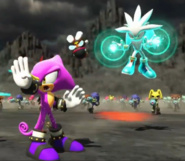 Espio and Silver - Sonic Forces