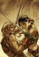 Young Thor and Sif