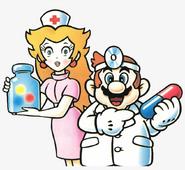 Nurse peach