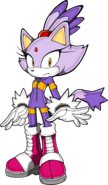SonicRiders Blaze the Cat