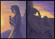 KH; Anxious Twilight by celyne
