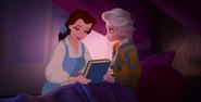 Belle and Elsa by mostlydisneyfemslash 5