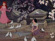 Snow White and Ariel by bigender-mermaids 2