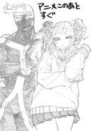 TogaWice art by Horikoshi
