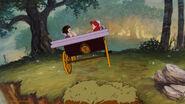 Snow White and Ariel by bigender-mermaids 1