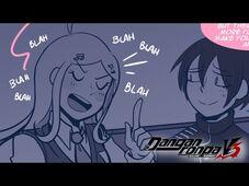 -Danganronpa V3 Comic Dub- Shuichi and Kaede Stargaze ☆