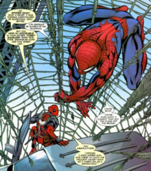 Spideypool first meeting.png