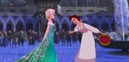 Belle and Elsa by mostlydisneyfemslash 1