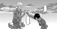 Chapter 97 Explicit Parallel I Reiner helps Eren to get up blank