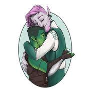 Fjorclay warm hugs