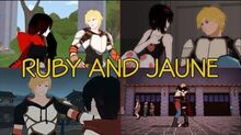 Ruby and Jaune's Friendship- Full Story (All Scenes)