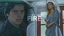 Betty & Jughead Fire on Fire