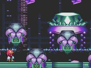 SonicMania Knuckles in shrine