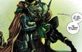 Thor and Kid Loki hug