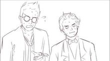 How long have you been sleeping with crowley? Good Omens animatic