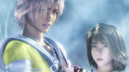 FFX-2 Yuna's dream of her and Tidus