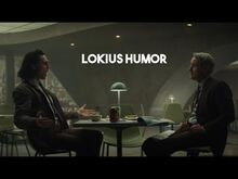 """• lokius humor - """"i would never stab anyone in the back"""" -+1x2-"""