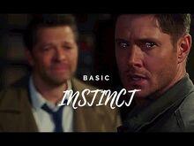 Basic instinct - dean & castiel
