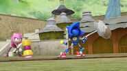 SonicBoom Amy&MetalSonic with hammers