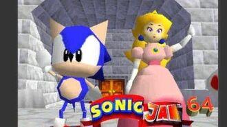 Sonic Jam 64 Ending saving Peach