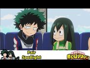 Why I Like It- Izuku And Tsuyu -- My Hero Academia Pairs Explained