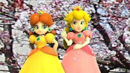 MMD ~ MP10 Peach & Daisy ~