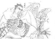 Episode 88 EndHawks Sketch